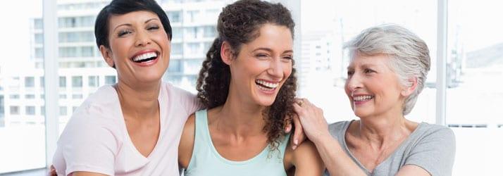Chiropractic Coeur D'Alene ID Ladies Smiling